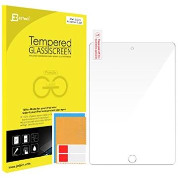JETech iPad 2 / 3 / 4 Gehärtetem Glas Schutzfolie Panzerglas Premium Folien Schutzfolie Displayschutz Screen Protector für Apple iPad 2/3/4 -